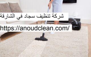 شركة تنظيف سجاد في الشارقة