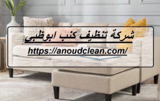شركة تنظيف كنب ابوظبي